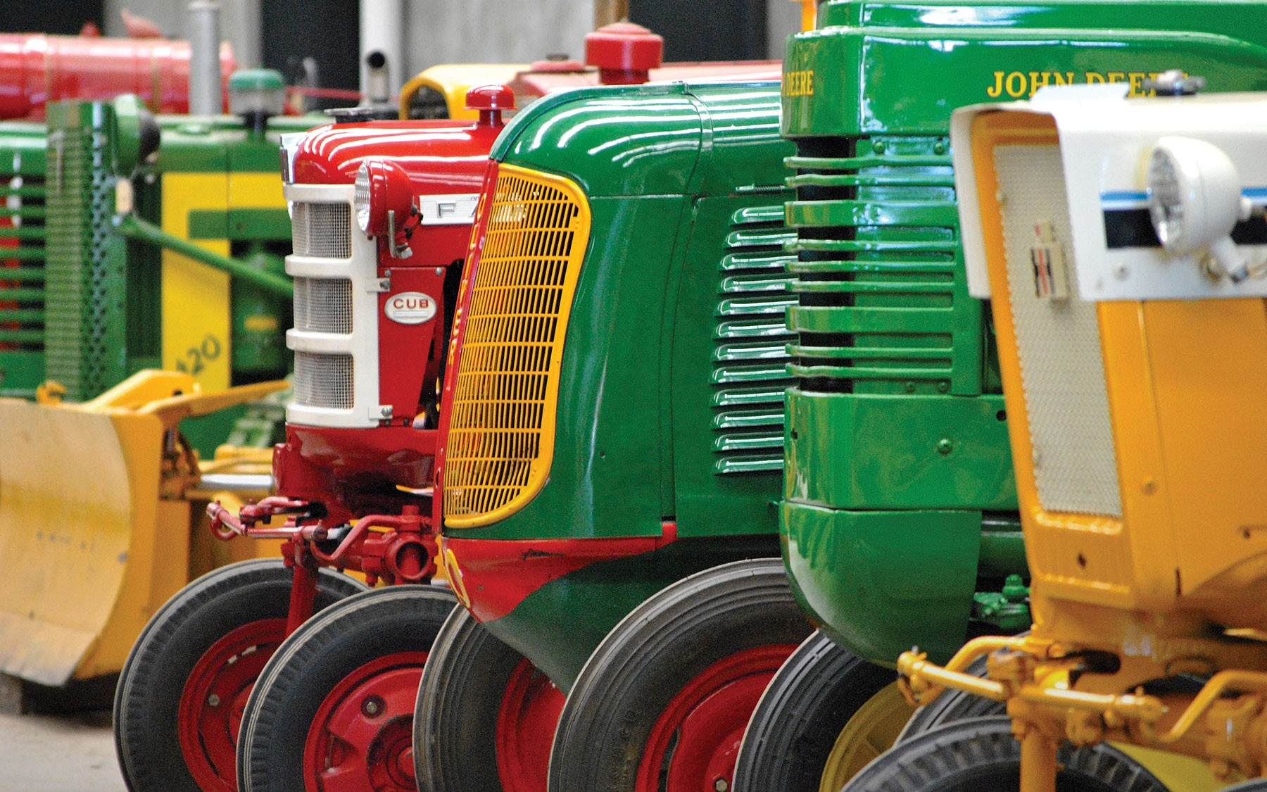 The Classic & Vintage Tractor Auction