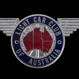 LIGHT CAR CLUB VICTORIA: A Light Car Club of Australia badge
